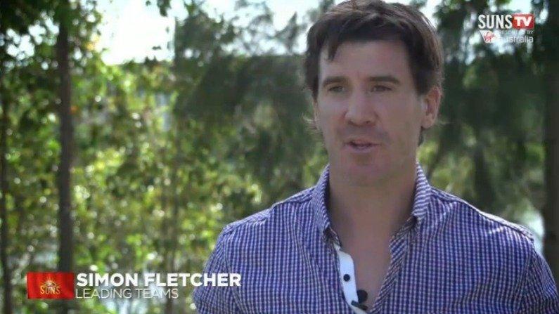 Simon Fletcher at Suns Camp